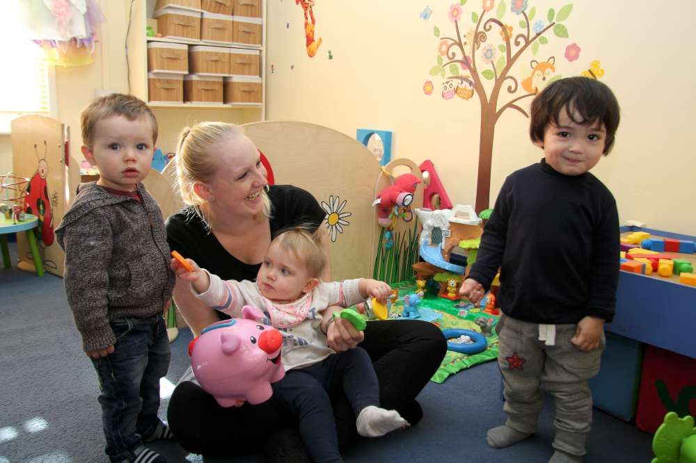 Some of the team here at Giggles Day Nursery in Dartford 2